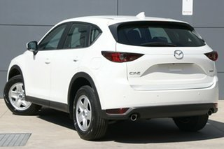 2019 Mazda CX-5 KF2W7A Maxx SKYACTIV-Drive FWD Snowflake White 6 Speed Sports Automatic Wagon.
