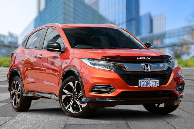 Used Honda HR-V MY18 RS, 2018 Honda HR-V MY18 RS Orange 1 Speed Constant Variable Hatchback