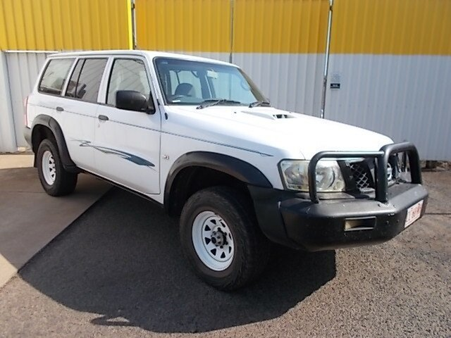 Used Nissan Patrol GU IV MY05 DX, 2005 Nissan Patrol GU IV MY05 DX White 5 Speed Manual Wagon