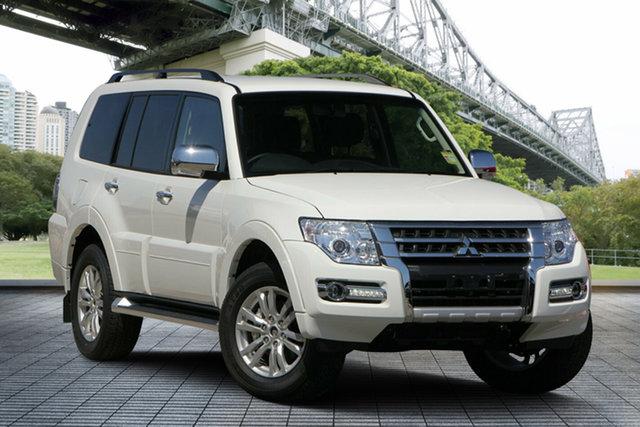 Used Mitsubishi Pajero NX MY19 GLX, 2018 Mitsubishi Pajero NX MY19 GLX White 5 Speed Sports Automatic Wagon