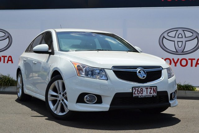 Used Holden Cruze JH MY14 SRI Z-Series, 2014 Holden Cruze JH MY14 SRI Z-Series White 6 Speed Automatic Sedan