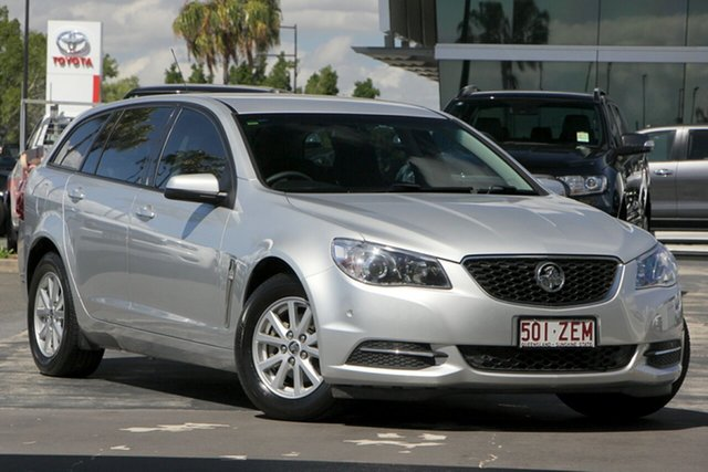 Used Holden Commodore VF II MY16 Evoke Sportwagon, 2016 Holden Commodore VF II MY16 Evoke Sportwagon Silver 6 Speed Sports Automatic Wagon