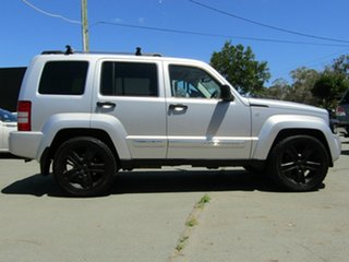 2012 Jeep Cherokee KK MY12 Limited (4x4) Silver 4 Speed Automatic Wagon