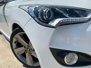2013 Hyundai Veloster FS2 SR Coupe Turbo White 6 Speed Manual Hatchback.