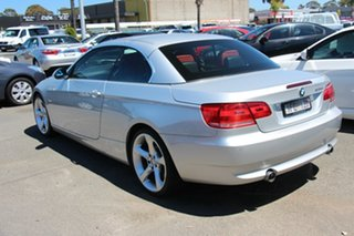 2007 BMW 3 Series E93 MY08 335i Steptronic Silver 6 Speed Sports Automatic Convertible