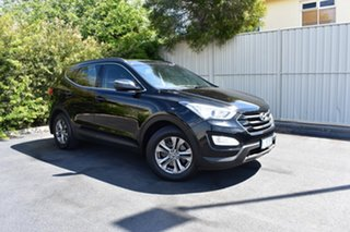 2013 Hyundai Santa Fe DM MY13 Active Black 6 Speed Sports Automatic Wagon.