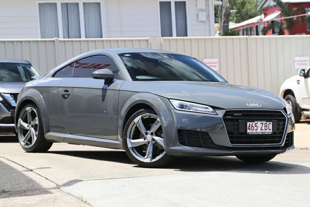 Used Audi TT FV MY16 Sport S Tronic Quattro, 2015 Audi TT FV MY16 Sport S Tronic Quattro Grey 6 Speed Sports Automatic Dual Clutch Coupe