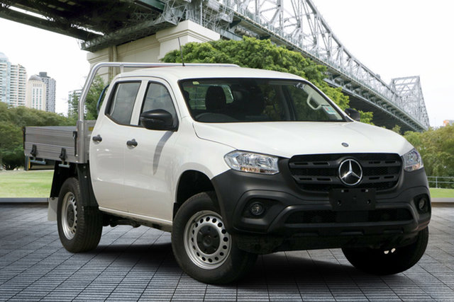 Used Mercedes-Benz X-Class 470 X250d 4MATIC Pure, 2018 Mercedes-Benz X-Class 470 X250d 4MATIC Pure White 6 Speed Manual Cab Chassis