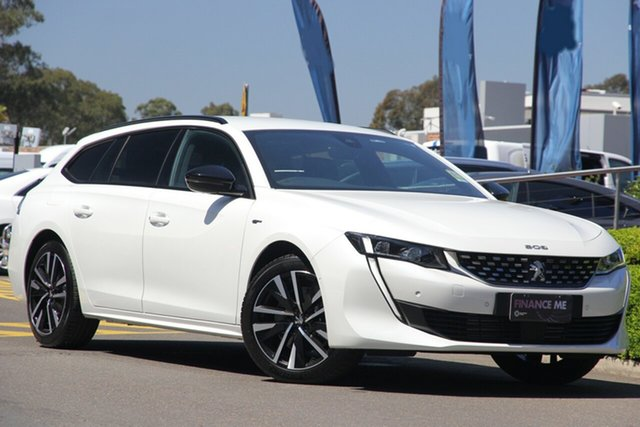 New Peugeot 508 R8 MY20 GT Sportwagon, 2019 Peugeot 508 R8 MY20 GT Sportwagon White 8 Speed Sports Automatic Wagon