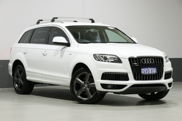 Used Audi Q7 MY11 3.0 TDI Quattro, 2011 Audi Q7 MY11 3.0 TDI Quattro White 8 Speed Automatic Tiptronic Wagon