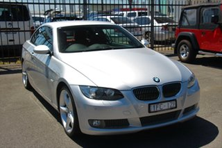 2007 BMW 3 Series E93 MY08 335i Steptronic Silver 6 Speed Sports Automatic Convertible.