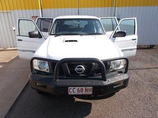 2005 Nissan Patrol GU IV MY05 DX White 5 Speed Manual Wagon