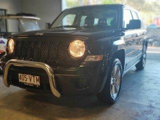 2013 Jeep Patriot MK MY14 Sport 4x2 Black 5 Speed Manual Wagon.