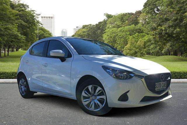 Demo Mazda 2 DJ2HAA Neo SKYACTIV-Drive, 2019 Mazda 2 DJ2HAA Neo SKYACTIV-Drive White Pearl 6 Speed Sports Automatic Hatchback