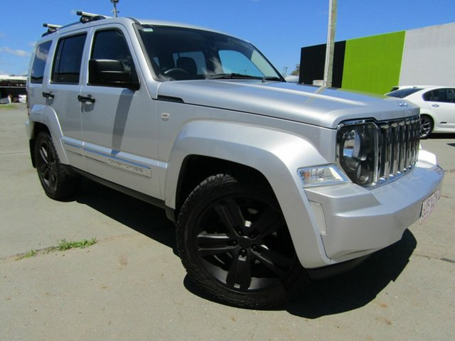 Used Jeep Cherokee KK MY12 Limited (4x4), 2012 Jeep Cherokee KK MY12 Limited (4x4) Silver 4 Speed Automatic Wagon