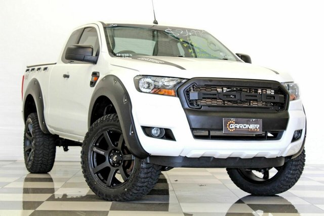 Used Ford Ranger PX MkII XL 3.2 (4x4), 2015 Ford Ranger PX MkII XL 3.2 (4x4) White 6 Speed Manual Super Cab Utility