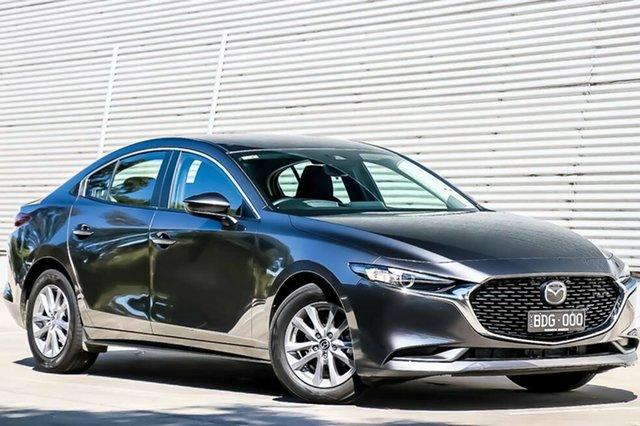 Demo Mazda 3 BP2S7A G20 SKYACTIV-Drive Pure, 2019 Mazda 3 BP2S7A G20 SKYACTIV-Drive Pure Machine Grey 6 Speed Sports Automatic Sedan