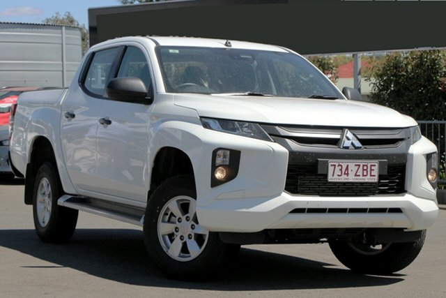 Used Mitsubishi Triton MR MY19 GLX+ Double Cab, 2019 Mitsubishi Triton MR MY19 GLX+ Double Cab White 6 Speed Sports Automatic Utility