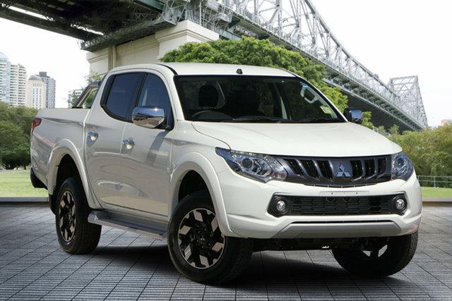 Used Mitsubishi Triton MQ MY18 Exceed Double Cab, 2018 Mitsubishi Triton MQ MY18 Exceed Double Cab White 5 Speed Sports Automatic Utility