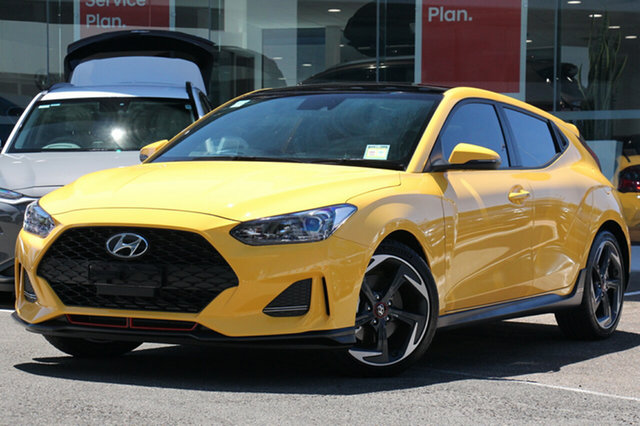 New Hyundai Veloster JS MY20 Turbo Coupe Premium, 2019 Hyundai Veloster JS MY20 Turbo Coupe Premium Ignite Flame 6 Speed Manual Hatchback