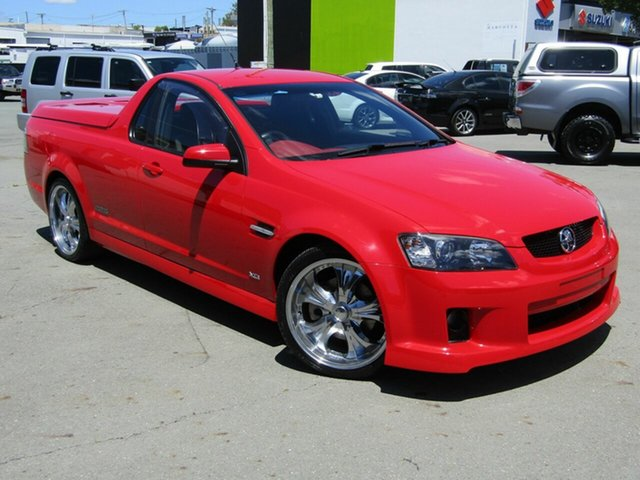 Used Holden Commodore VE MY10 SS-V, 2009 Holden Commodore VE MY10 SS-V Red 6 Speed Manual Utility