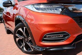 2018 Honda HR-V MY18 RS Orange 1 Speed Constant Variable Hatchback.