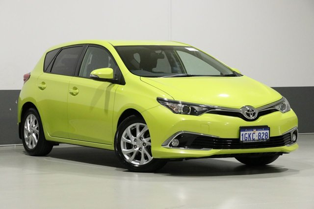 Used Toyota Corolla ZRE182R MY17 Ascent Sport, 2018 Toyota Corolla ZRE182R MY17 Ascent Sport Yellow 7 Speed CVT Auto Sequential Hatchback