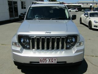 2012 Jeep Cherokee KK MY12 Limited (4x4) Silver 4 Speed Automatic Wagon.