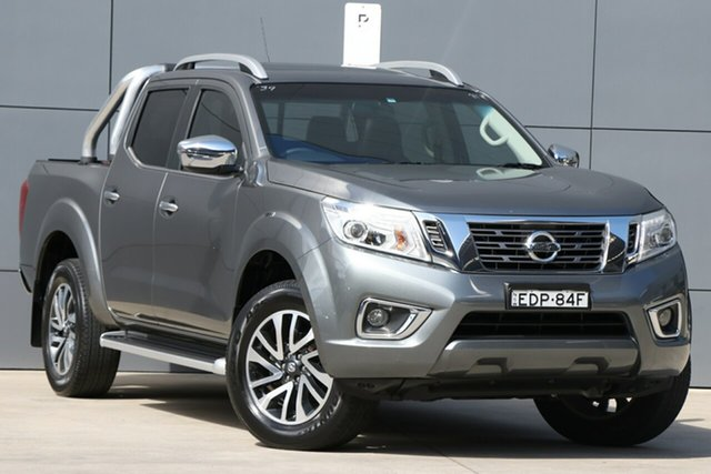Used Nissan Navara D23 ST-X, 2016 Nissan Navara D23 ST-X Grey 7 Speed Sports Automatic Utility