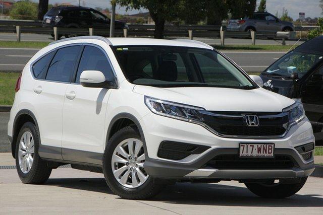 Used Honda CR-V RM Series II MY17 VTi, 2016 Honda CR-V RM Series II MY17 VTi Taffeta White 5 Speed Automatic Wagon