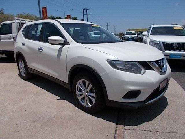 Used Nissan X-Trail T32 ST X-tronic 2WD, 2016 Nissan X-Trail T32 ST X-tronic 2WD White 7 Speed Constant Variable Wagon