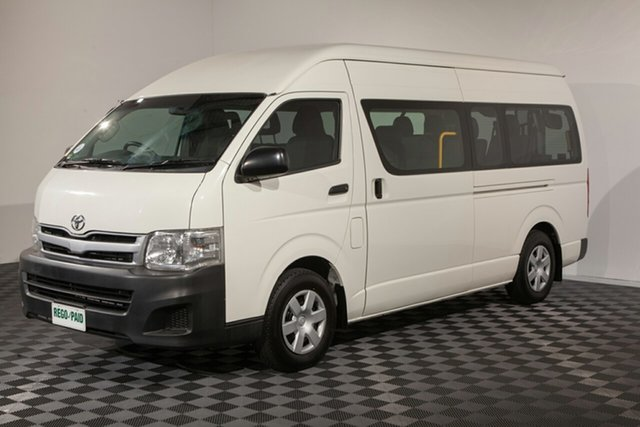 Used Toyota HiAce KDH223R MY11 Commuter High Roof Super LWB, 2011 Toyota HiAce KDH223R MY11 Commuter High Roof Super LWB Vanilla Bus