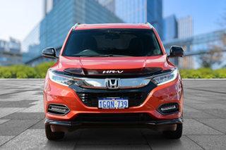 2018 Honda HR-V MY18 RS Orange 1 Speed Constant Variable Hatchback
