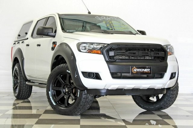 Used Ford Ranger PX MkII MY17 XL 2.2 Hi-Rider (4x2), 2016 Ford Ranger PX MkII MY17 XL 2.2 Hi-Rider (4x2) White 6 Speed Automatic Crew Cab Pickup