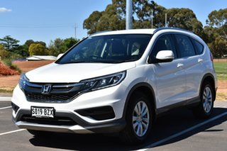 2016 Honda CR-V RM Series II MY17 VTi White 5 Speed Automatic Wagon