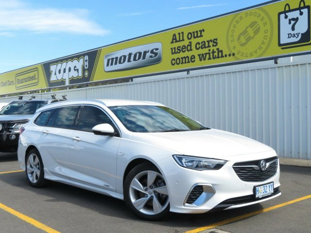 Used Holden Commodore ZB MY18 RS-V Sportwagon AWD, 2018 Holden Commodore ZB MY18 RS-V Sportwagon AWD Abalone White 9 Speed Sports Automatic Wagon