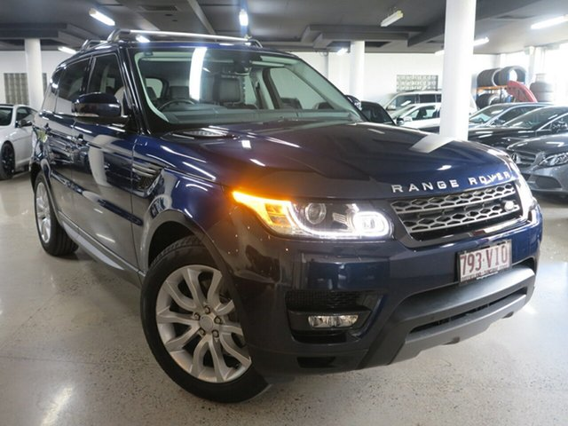 Used Land Rover Range Rover Sport L494 15.5MY TDV6 SE, 2015 Land Rover Range Rover Sport L494 15.5MY TDV6 SE Blue 8 Speed Sports Automatic Wagon
