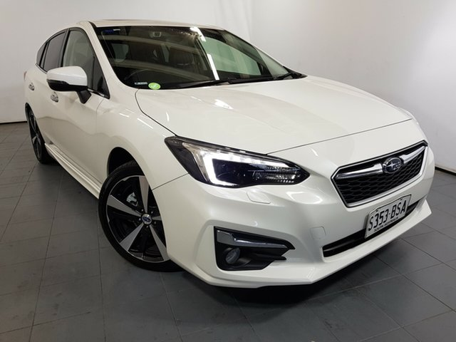 Used Subaru Impreza G5 MY17 2.0i-S CVT AWD, 2017 Subaru Impreza G5 MY17 2.0i-S CVT AWD White 7 Speed Constant Variable Hatchback
