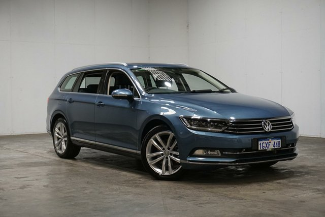 Used Volkswagen Passat 3C (B8) MY16 140TDI DSG Highline, 2015 Volkswagen Passat 3C (B8) MY16 140TDI DSG Highline Blue 6 Speed Sports Automatic Dual Clutch