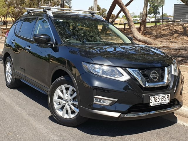 Used Nissan X-Trail T32 Series II ST-L X-tronic 2WD, 2017 Nissan X-Trail T32 Series II ST-L X-tronic 2WD Black 7 Speed Constant Variable Wagon