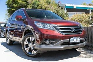 2013 Honda CR-V RM VTi-L 4WD Red 5 Speed Automatic Wagon.