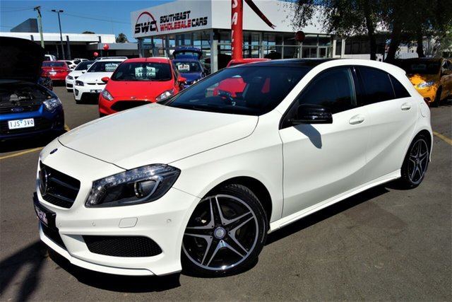 Used Mercedes-Benz A-Class W176 A200 CDI D-CT, 2014 Mercedes-Benz A-Class W176 A200 CDI D-CT White 7 Speed Sports Automatic Dual Clutch Hatchback