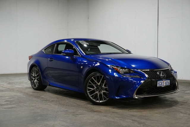 Used Lexus RC GSC10R RC350 F Sport, 2017 Lexus RC GSC10R RC350 F Sport Blue 8 Speed Sports Automatic Coupe