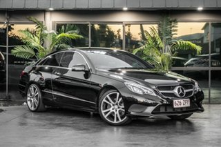 2014 Mercedes-Benz E-Class C207 MY14 E250 7G-Tronic + Black 7 Speed Sports Automatic Coupe.