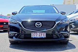 2016 Mazda 6 GJ1032 GT SKYACTIV-Drive Black 6 Speed Sports Automatic Sedan.