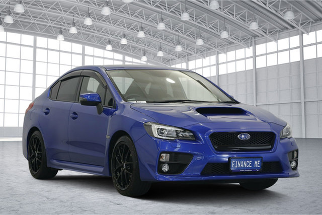 Used Subaru WRX V1 MY18 Premium AWD, 2017 Subaru WRX V1 MY18 Premium AWD Blue 6 Speed Manual Sedan