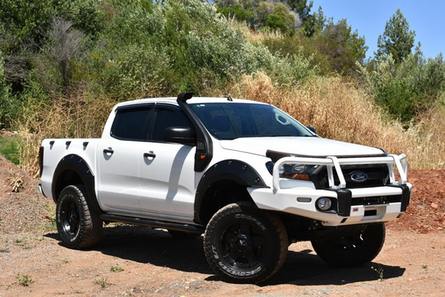 Used Ford Ranger PX MkII XLS Double Cab, 2015 Ford Ranger PX MkII XLS Double Cab White 6 Speed Sports Automatic Utility