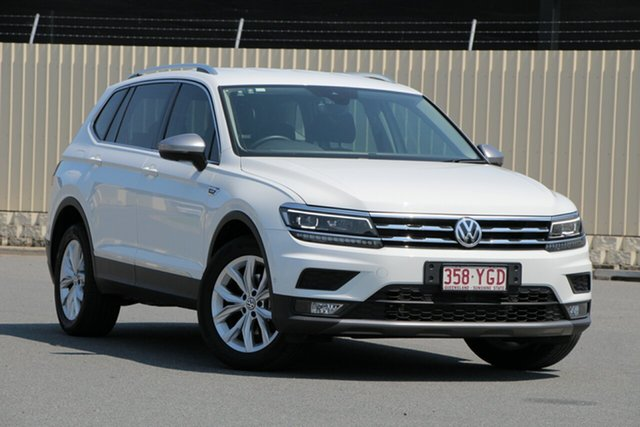 Used Volkswagen Tiguan 5N MY18 110TDI Comfortline DSG 4MOTION Allspace, 2018 Volkswagen Tiguan 5N MY18 110TDI Comfortline DSG 4MOTION Allspace Pure White 7 Speed