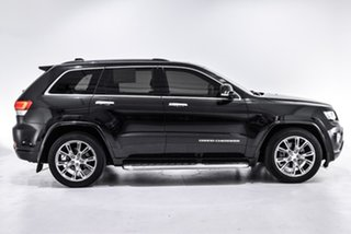 2016 Jeep Grand Cherokee WK MY15 Overland Black 8 Speed Sports Automatic Wagon