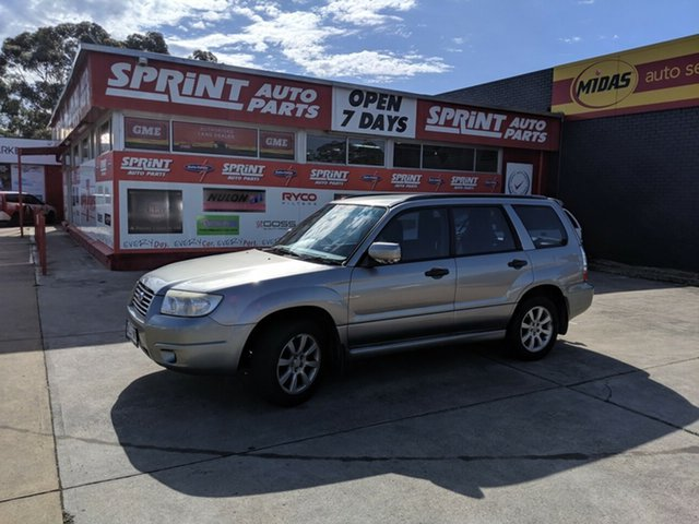 Used Subaru Forester 79V MY06 X AWD, 2006 Subaru Forester 79V MY06 X AWD Silver 5 Speed Manual Wagon